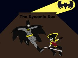 DC Heroes -  Batman and Robin by Big-K-2011