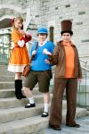 Professor Layton: The Dynamic Trio by AnyaPanda