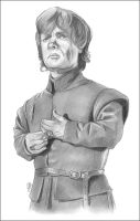 Tyrion Lannister Sketch by NicksPencil