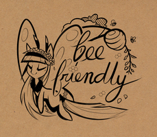 Bee Friendly by Hollulu