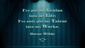 Oscar Wilde Quote 2 by RSeer