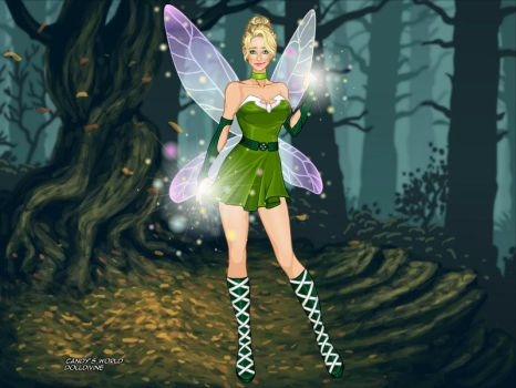 Tinkerbell X-Girl-Candys-World-Doll-Divine-wide by NicoRiley