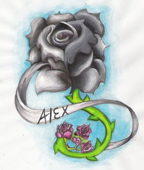 Rose of Alex by tastelessfate