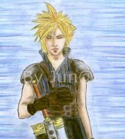 Cloud Strife by ladyjuna