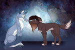 You're my whole universe {Art for Contest} by LeftDuality