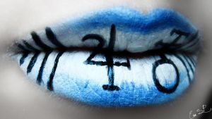 Alice Madness Return Lip Art by Chuchy5