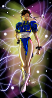 Chun-Li Colors by DaveKennedy