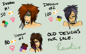 Selling Old Designs. by nebulaebae