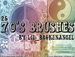 Brushes - 70's by lilbrokenangel