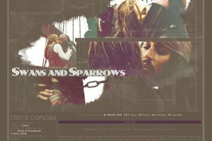 Swans and Sparrows Layout 03 by thewholehorizon