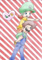 Mario : This way! by daisy4ever1997