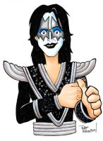 ACE FREHLEY  ACE TOON by roemesquita