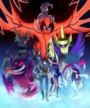 My Pokemon Y Team by The-Blue-Wind