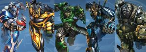 Age Of Extinction Autobots by Transformersguy1000