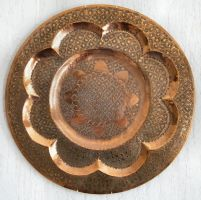 Metal Morrocan Plate by Variety-Stock