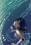Sailor Mercury by Yettyen
