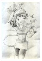 Haruka or May from pokemon by Lord-Plankton