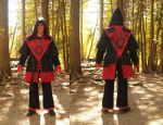 Dark Brotherhood Robes, done at last! by WhimsicalSquidCo