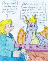 Dr Arnold and Spyro by Jose-Ramiro