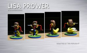 Lisa Prower figure - Commission by The-Replicant