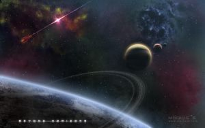 My first space wallpaper by marius-s