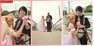 Princess Serenity and Prince Endymion by EvieE-Cosplay