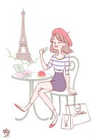 C'est Paris! by Cheeky-Bee