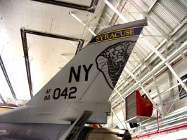 F-16 Tail by Sidneys1