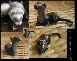 Ferret by Ivonea