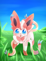 Sylveon by Akusuru