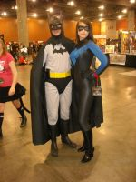 Batman and Nightwing by icantthinkofaname-09