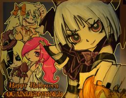 Happy Halloween OCUW by LolipopGhostKid