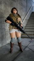 Comikaze: Piers Nivans (RE6) 'Watch Me' by AngelicCosplay