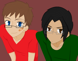 Enrique and Reece by C4PNshota