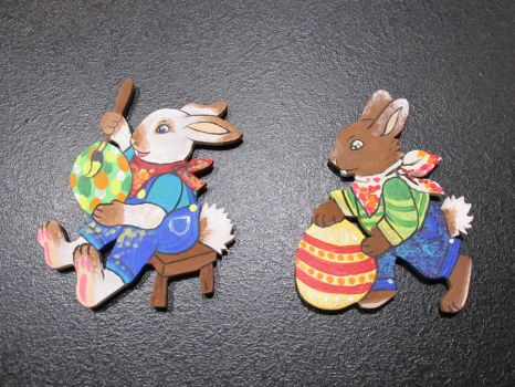 Easter Bunnies by Judy25