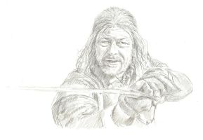 Sean Bean as Ned Stark by bcstroud