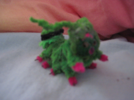 My first pipe cleaner digimon by PipecleanerFTW