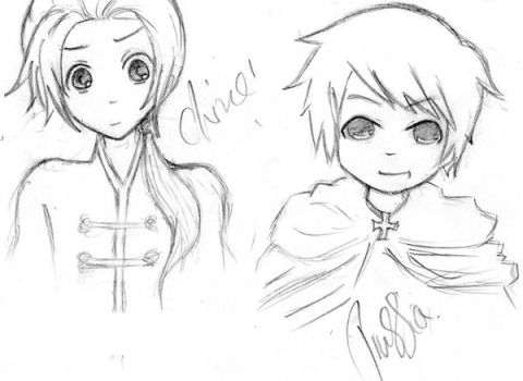Aph: China and Prussia by MoreTeaLove