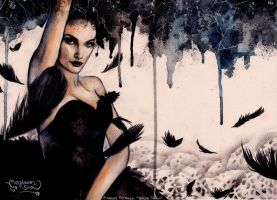 Natalie Portman in Black Swan by MeghannSnow