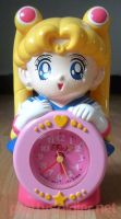 Seiko SailormoonS Quartz Alarm Clock by kelleyko
