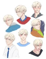 The Many Faces of Scorpius Malfoy by privee