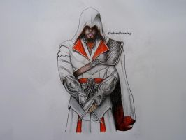 Ezio Auditore - Assassin's Creed Brotherhood by Scutum20