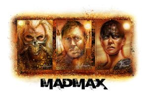 MAd MAx Horizontal Poster by rampantimaginationA