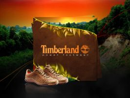 Timberland Shoes Wallpaper by featheredpixels