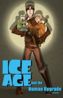 Ice Age Human Poster by skyrore1999