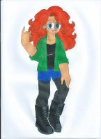 Contest: Disney High - Merida by animequeen20012003