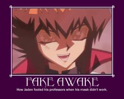 Fake Awake Demotivational Poster by LadyWinterEldritch