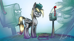 Depy VS Mail box by Alumx