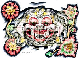 Bali Mask by S-Hirsack
