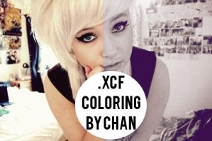 .xcf Gimp Coloring#9 by ChanGraphic by ChanGraphics